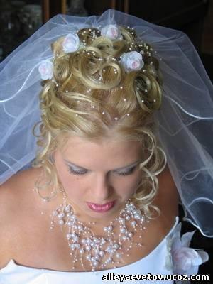 где делают свадебные прически